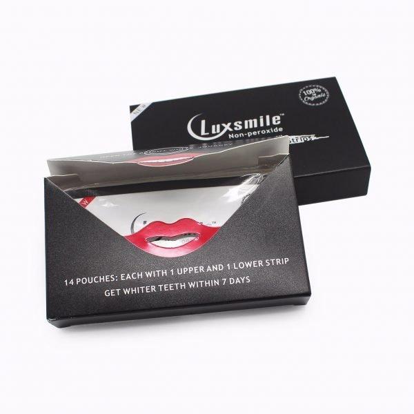 luxsmile teeth whitening strips